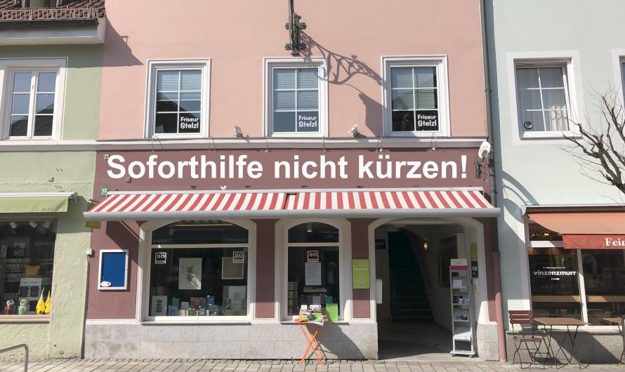 """Petition unterschreiben! Nein zur Aufrechnung der """"Soforthilfe Bayern"""" mit der """"Soforthilfe Bund"""""""