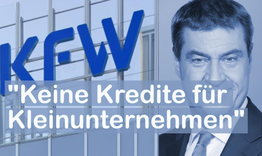"""""""Unterlassene Hilfeleistung"""" –  Bayern verweigert Bürgschaften für Kleinunternehmen. Kündigungswelle droht."""